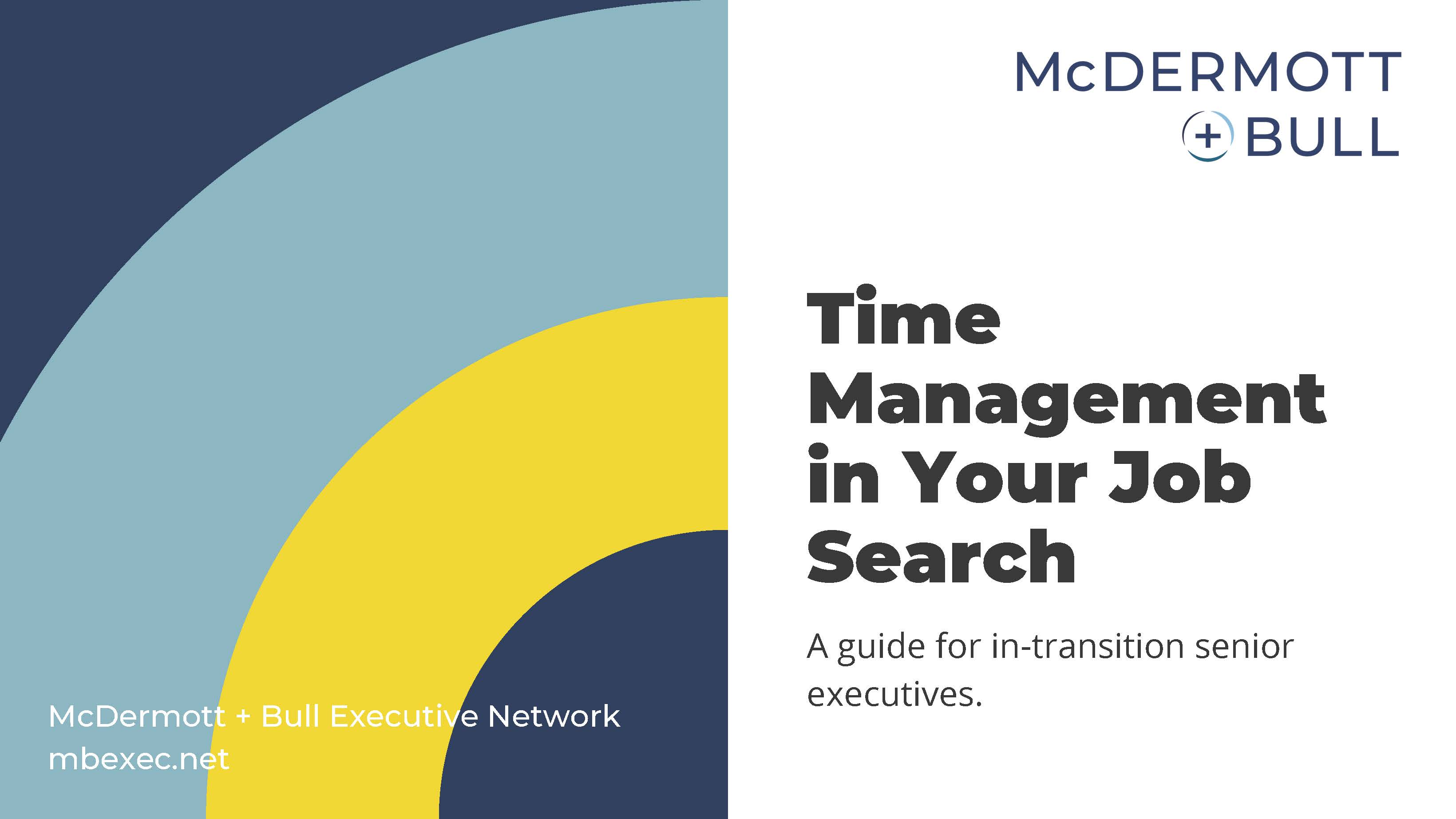 Time Management in Your Job Search