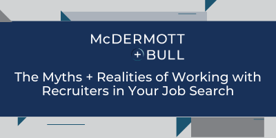 Webcast Series_ M+B Banner_The Myths + Realities of Working with Recruiters in Your Job Search