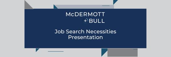 Webcast Series_ Job Search Necessities Presentation
