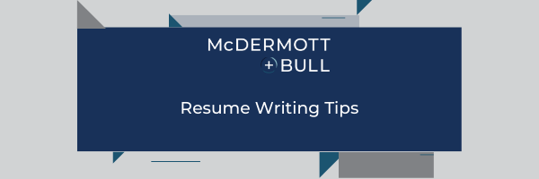 M+B Webcast Series: Resume Writing Tips