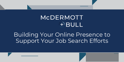 Building Your Online Presence to Support Your Job Search Efforts Featured Image